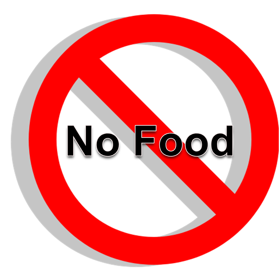 977x977 No Food Clipart