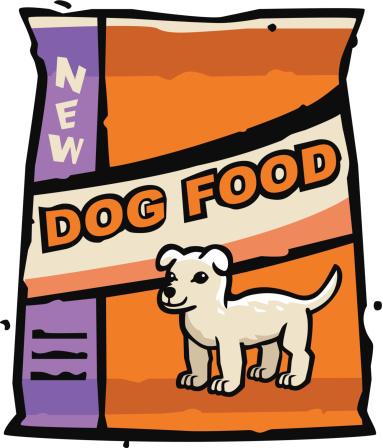 383x448 Dog Food Clip Art Clipart