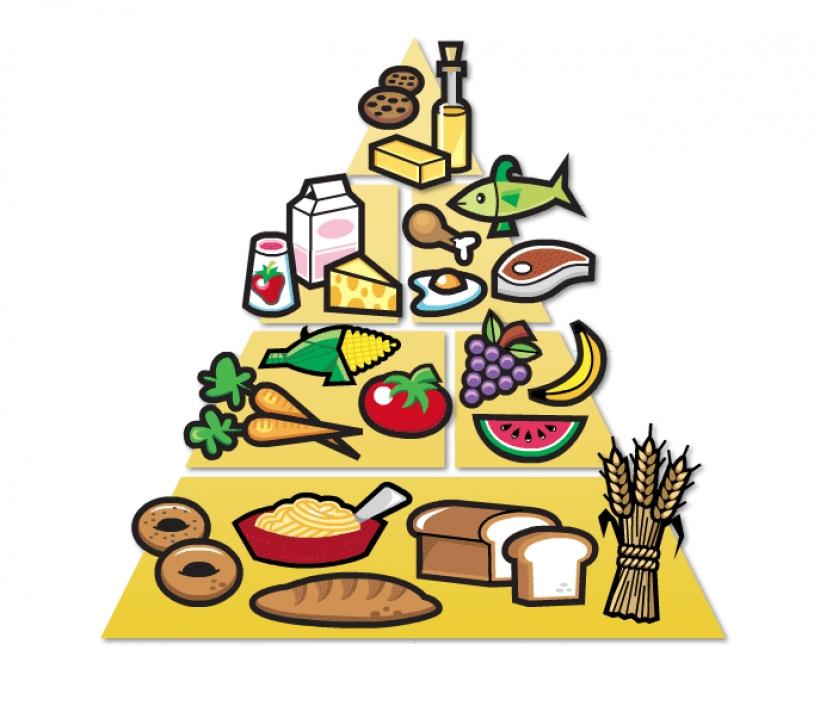 820x706 Clip Art Food Pyramid Food Pyramid Clipart Clipart Panda Free