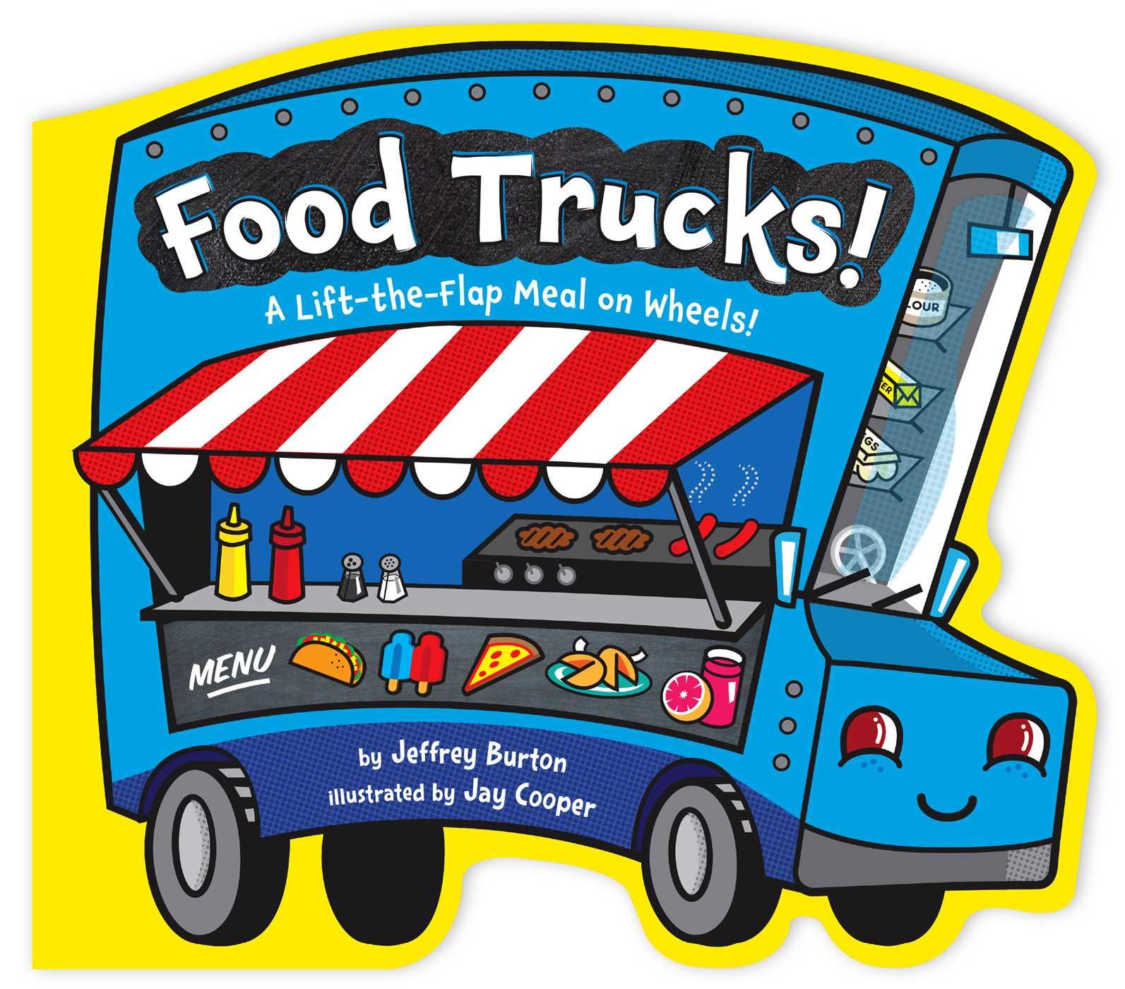 1593x1400 Food Trucks! Book By Jeffrey Burton, Jay Cooper Official