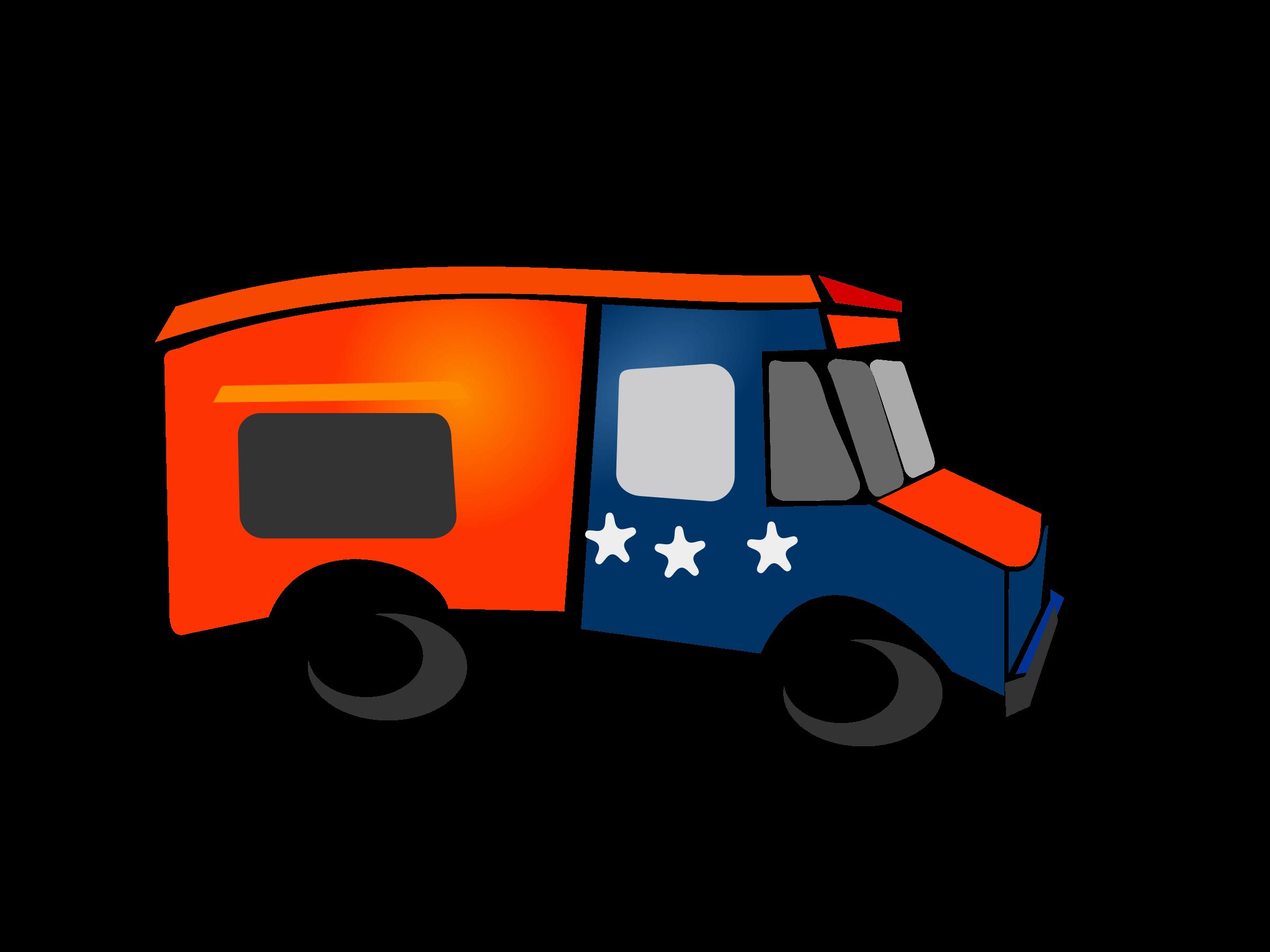 2400x1800 Food Trucks Cliparts 210763