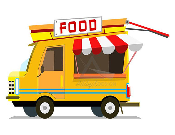 570x441 Food Truck Clipart Foodtruck Fast Food Fastfood Burger