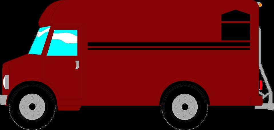 958x455 Vans Clipart Delivery Van
