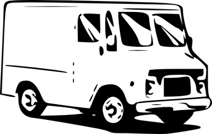 425x269 Truck Clipart Free
