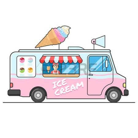 450x450 Car Clipart Ice Cream