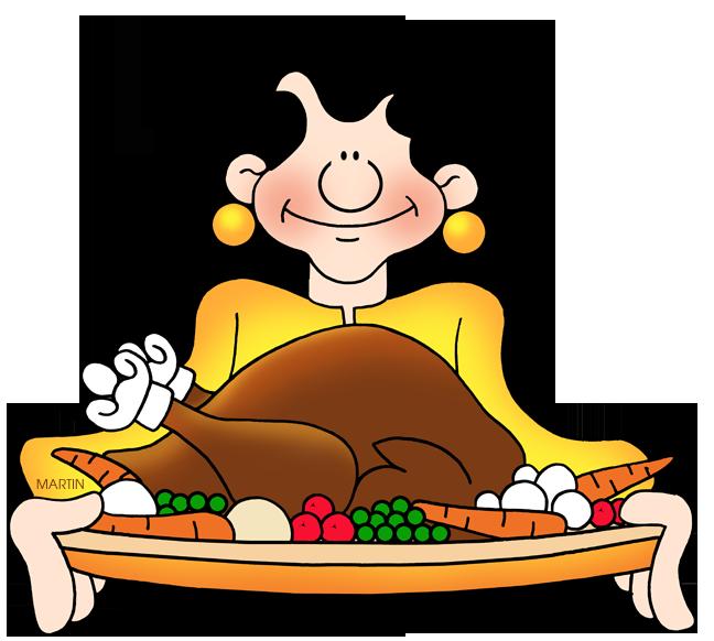 648x582 Food Clip Art By Phillip Martin, Turkey Feast