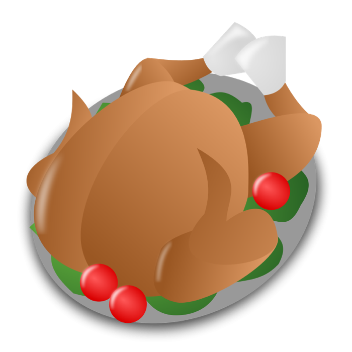 700x700 Holiday Turkey Clip Art Clip Art
