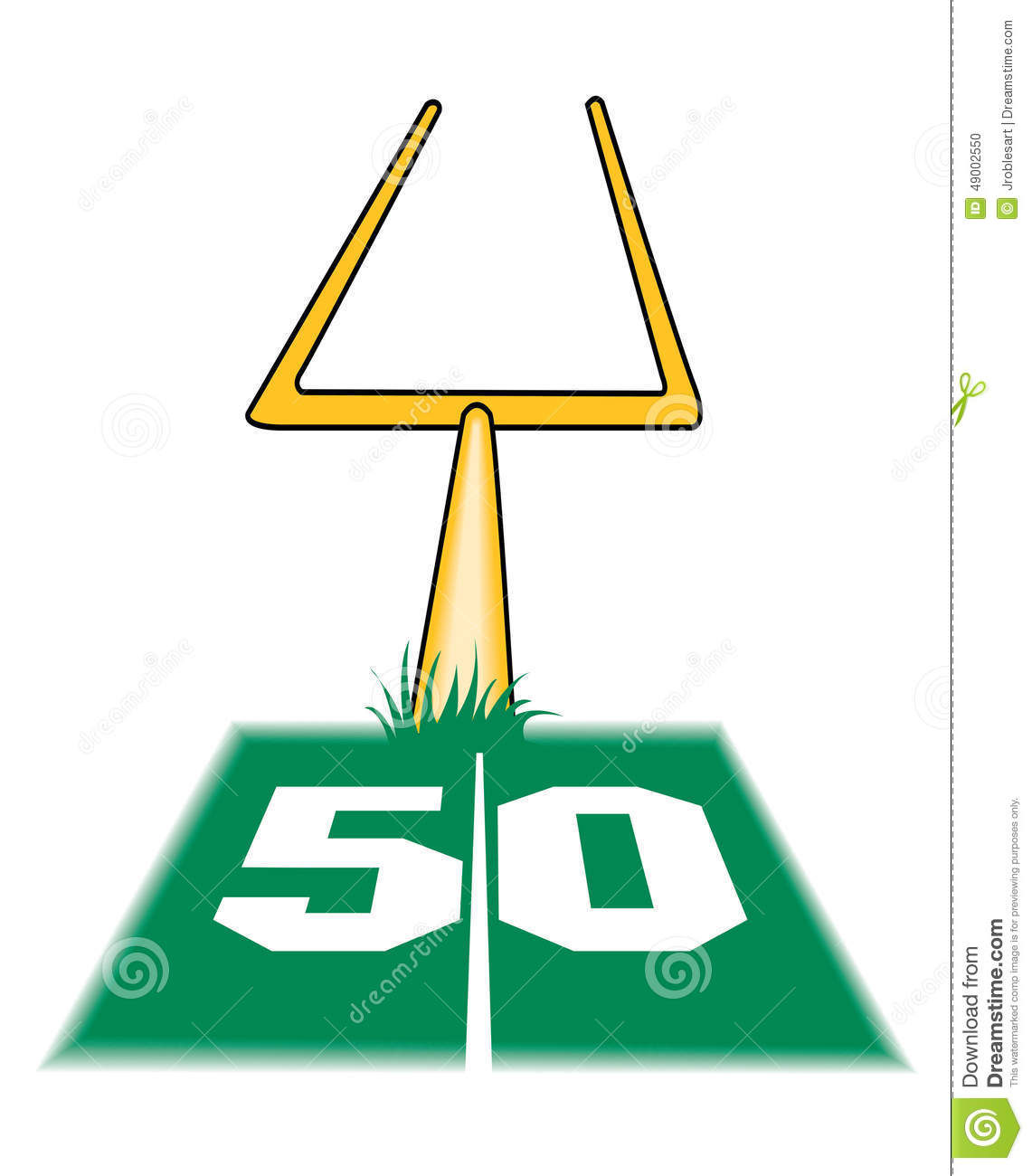 1141x1300 Clipart Football Goal Post