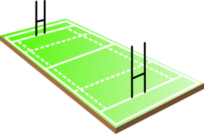 298x195 Football Field Rugby Field Clip Art