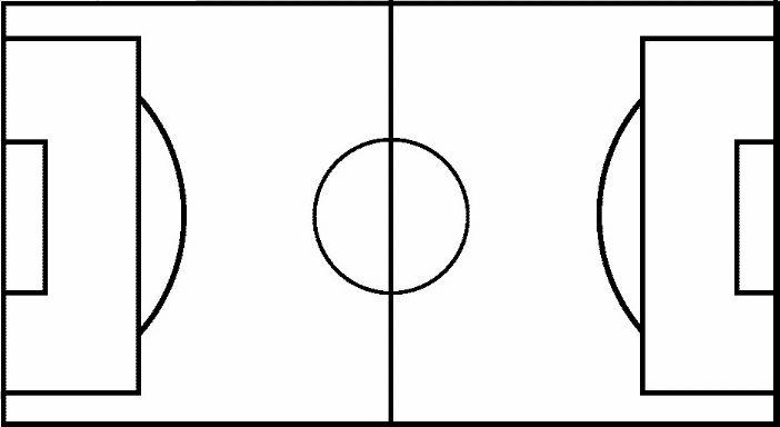702x384 Blank Football Field Clipart