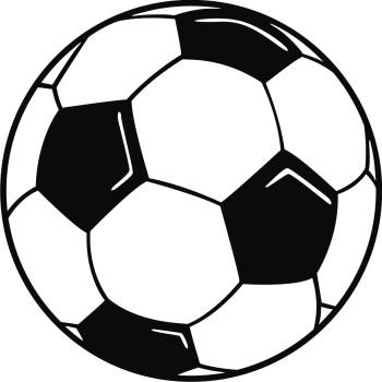 350x350 Foot Ball Clip Art