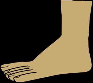 299x267 Foot Clip Art