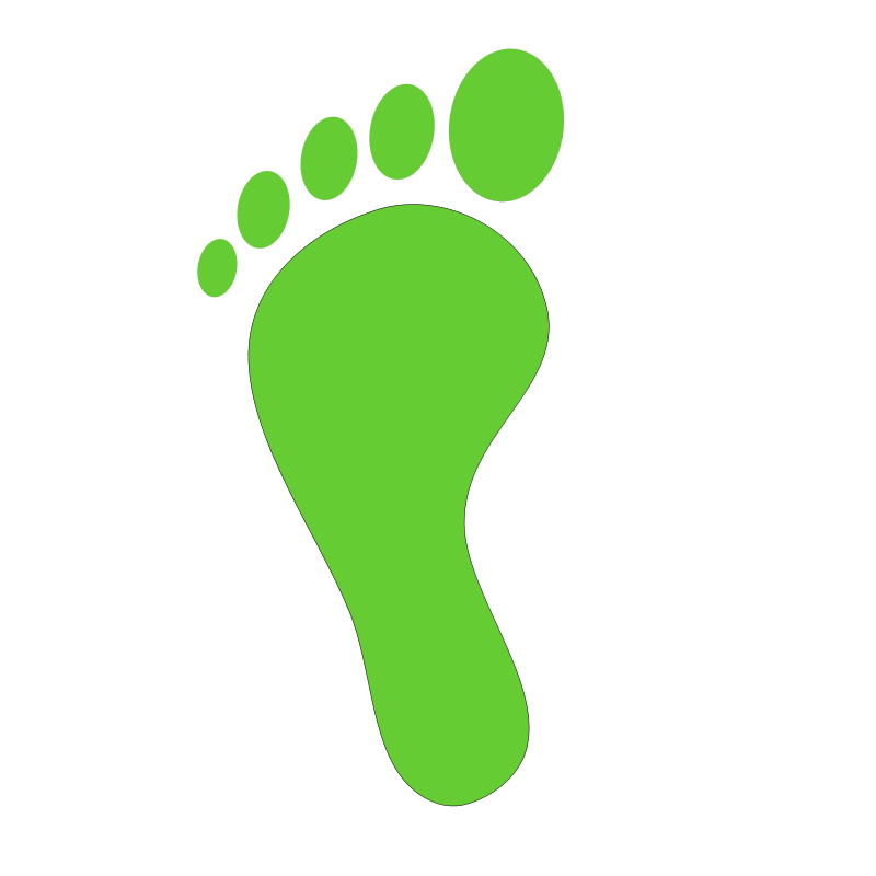 800x800 Foot Walking Feet Clip Art 3 Image