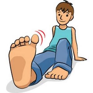 300x300 Barefoot Clipart Big Foot