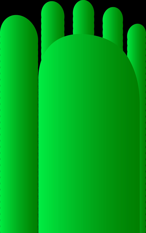 2791x4461 Blue Baby Feet Clipart