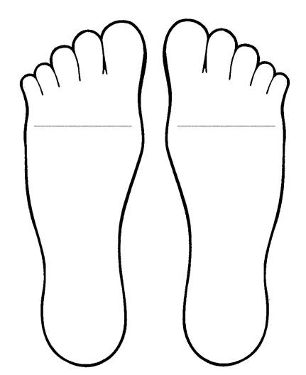 431x528 Big Foot Clipart Pair Feet