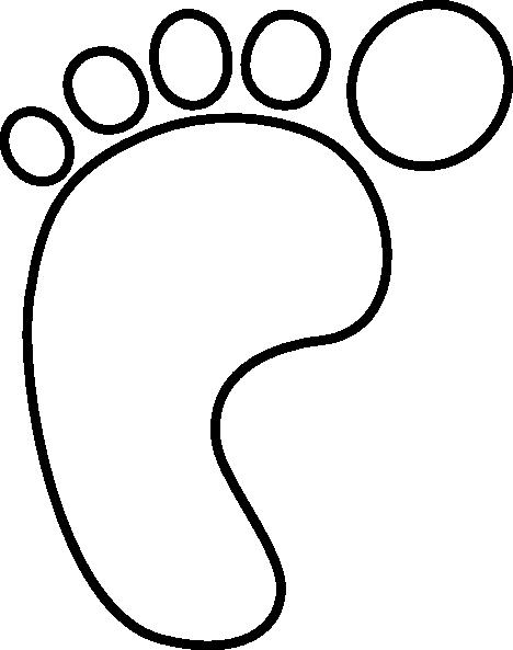 468x593 Foot Clip Art Black And White Clipart Panda