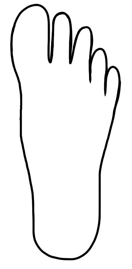 427x871 Hands And Feet Clipart