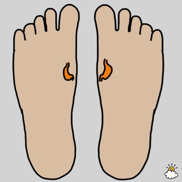 600x600 9 Parts Of Your Foot To Massage To Improve Your Health