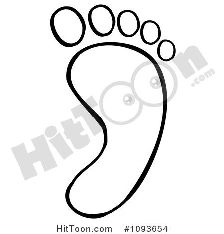 450x470 Foot Clipart