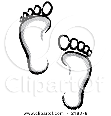 450x470 Footprint Clipart Human Footprint