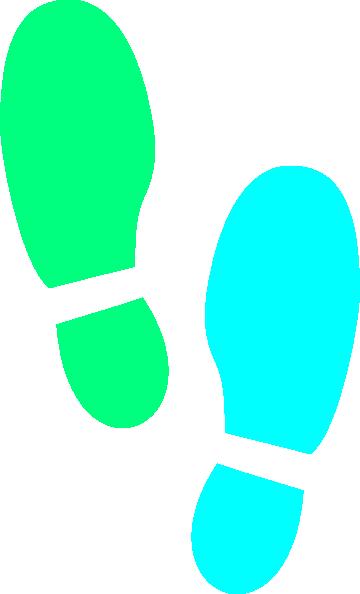 360x594 Shoe Print Clip Art