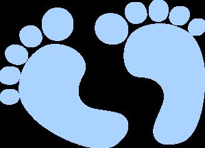 299x216 Clipart Baby Footprints