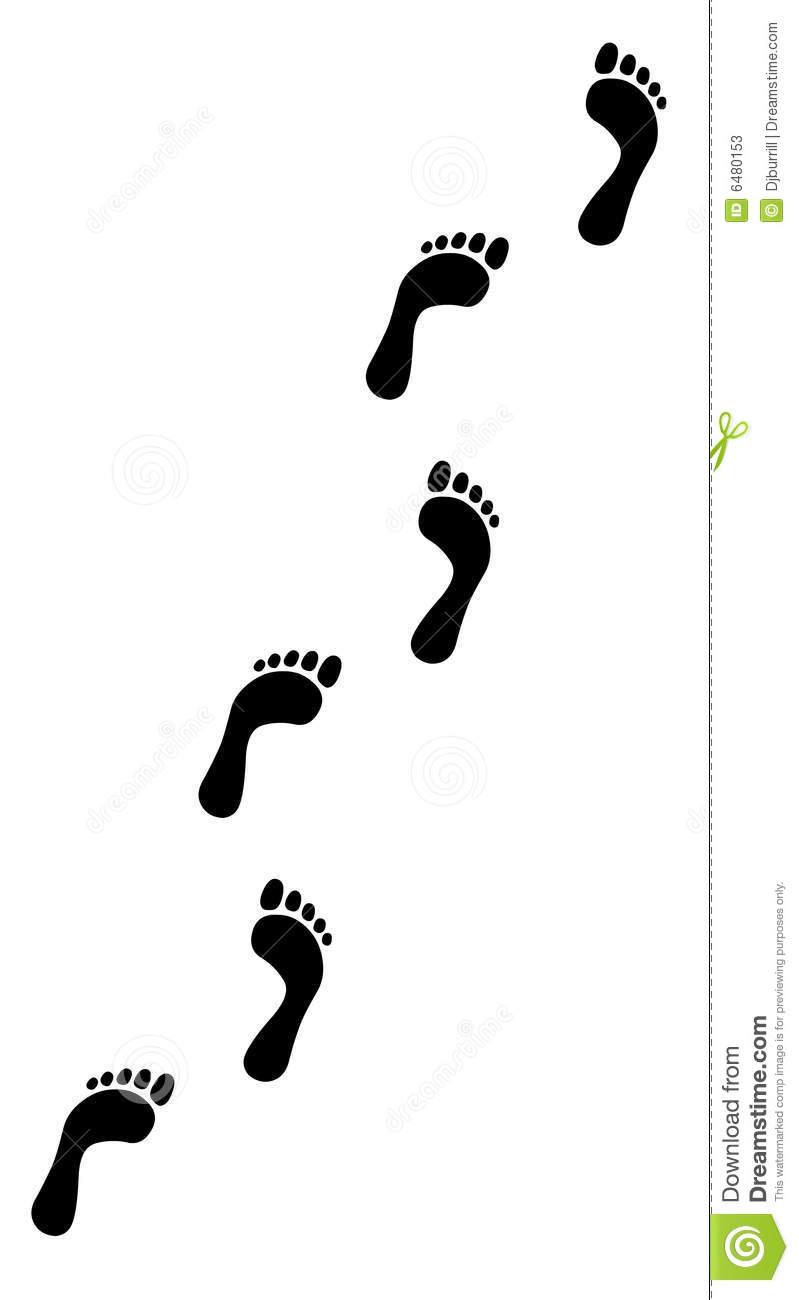 799x1300 Walking Footprints Clipart