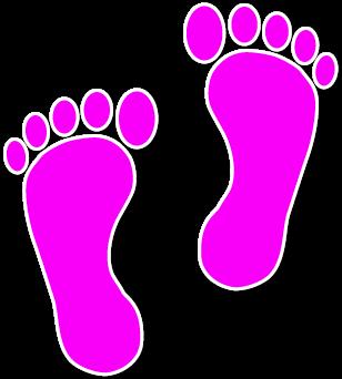308x342 Walking Feet Clip Art Dfiles Wikiclipart