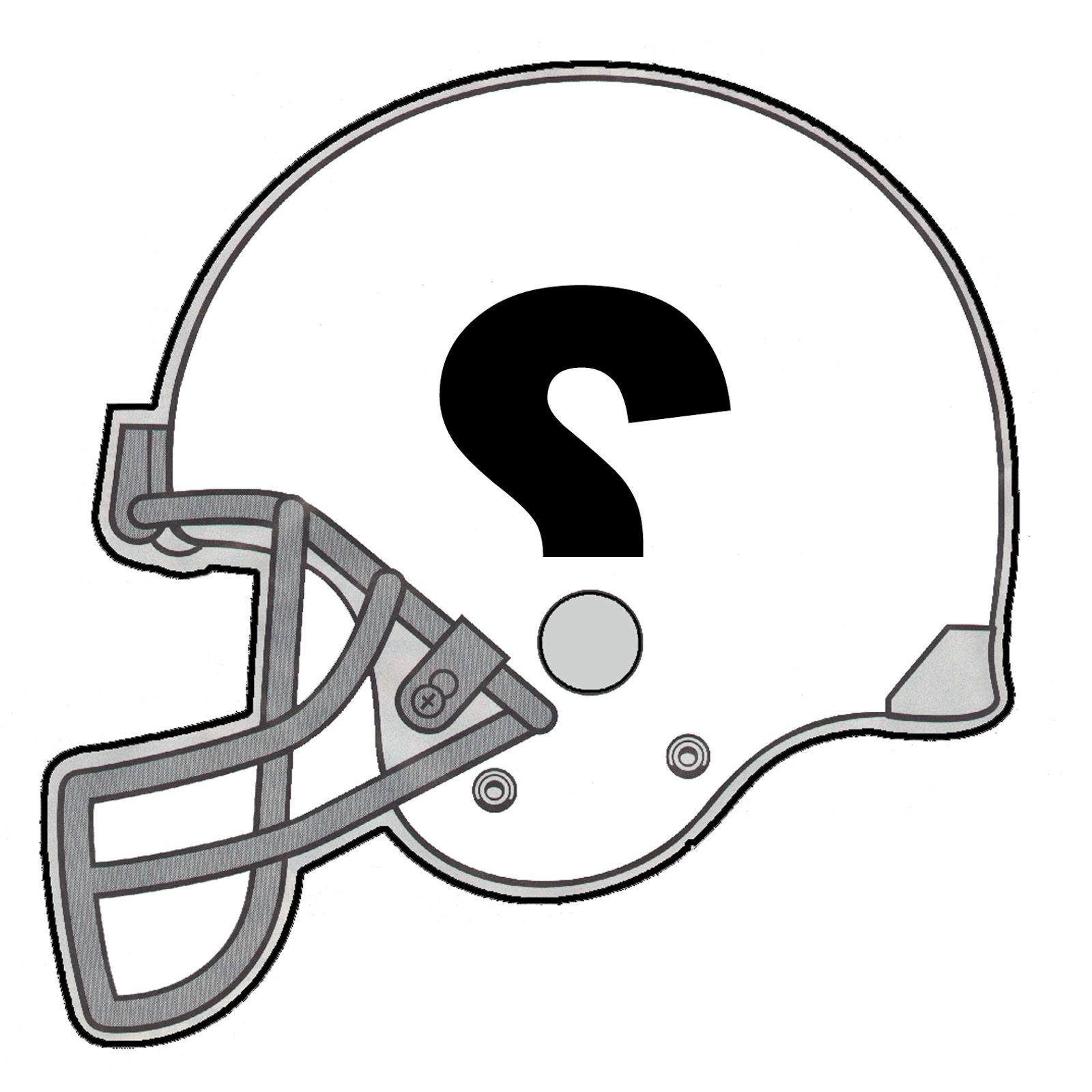 Football And Helmet Clipart