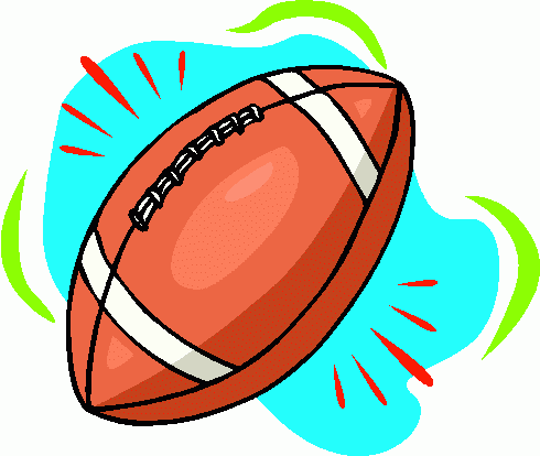 490x414 Free Animated Football Clipart