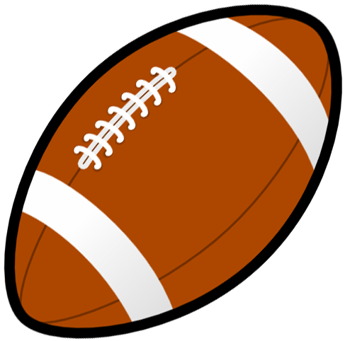 487x482 Free Football Clipart