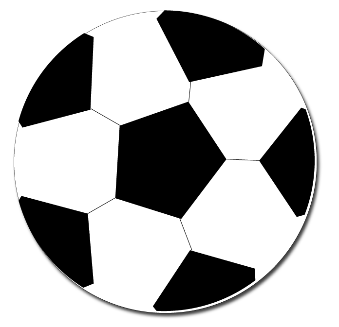 696x673 Star Clipart Soccer Ball