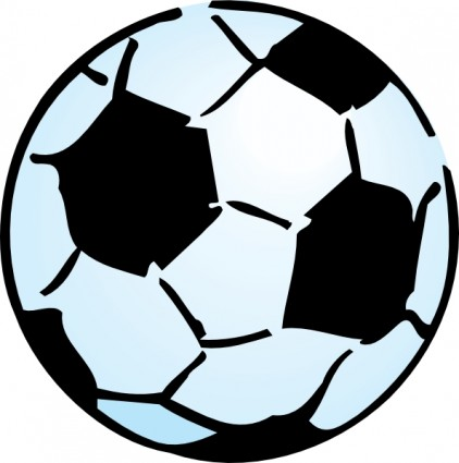 422x425 Vector Soccer Ball Clip Art Free Vector For Download
