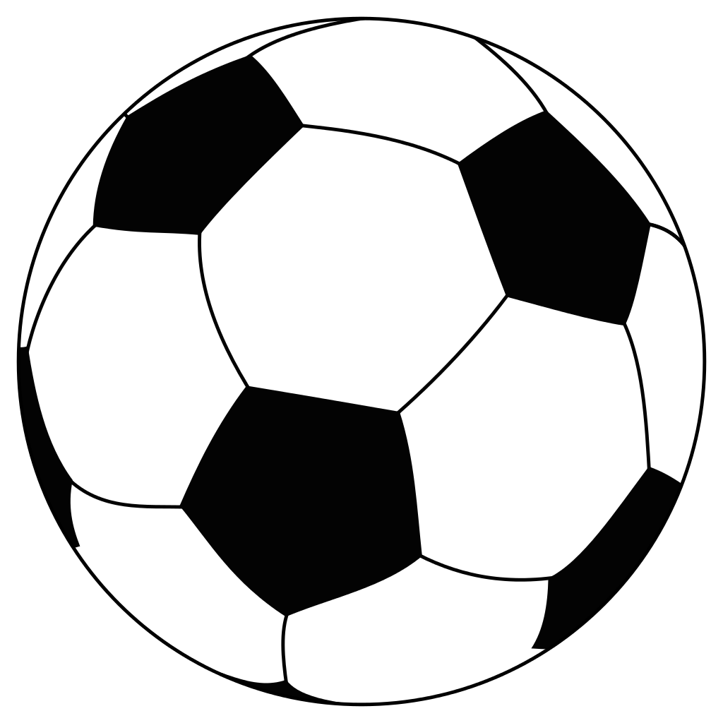1024x1024 Vector Soccer Ball Clip Art Free Vector For Download 5