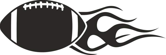700x232 Football Black And White Clip Art Football Clipart