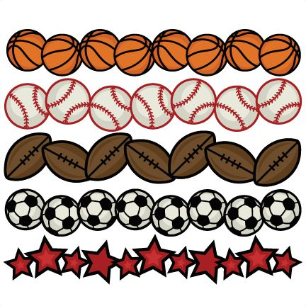 432x432 Football Clipart Boarder