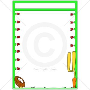 300x300 Free Clipart Football Borders