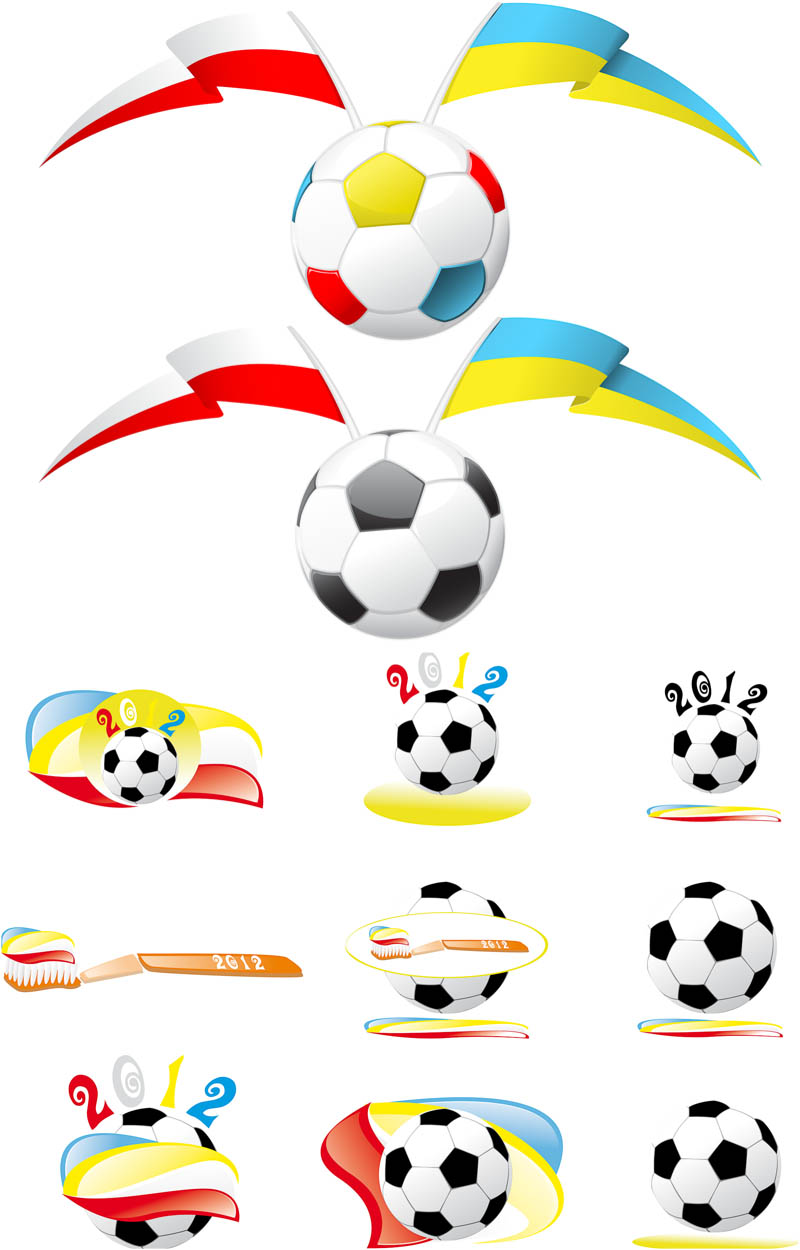 800x1250 Euro 2012 Football Labels Vector Vector Graphics Blog