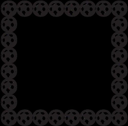 500x493 2083 Frame Clip Art Border Public Domain Vectors