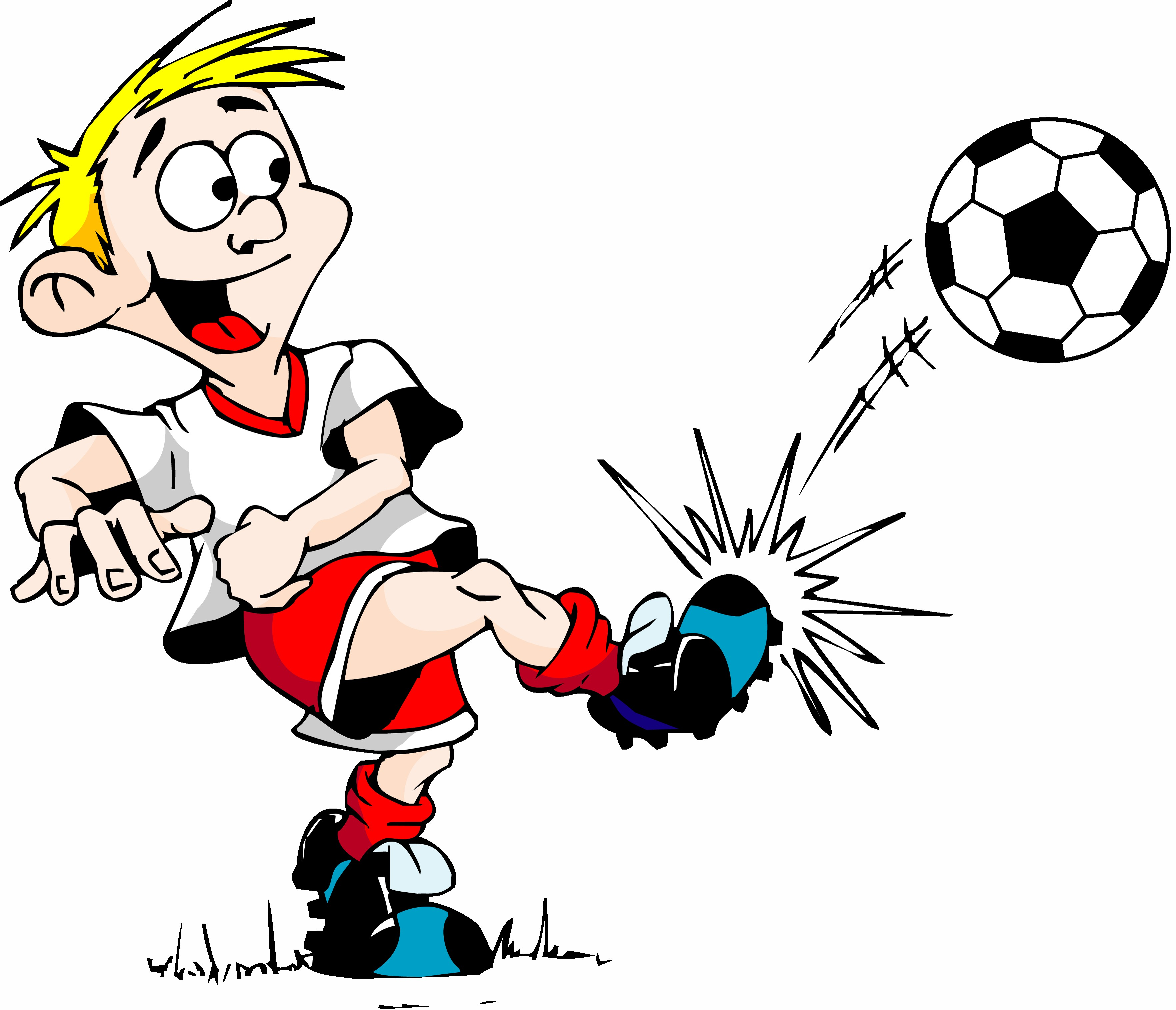 3528x3029 Football Cartoon Cliparts210805