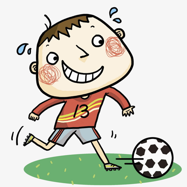 650x651 Football Boy, Cartoon, Hand, Boy Png Image For Free Download