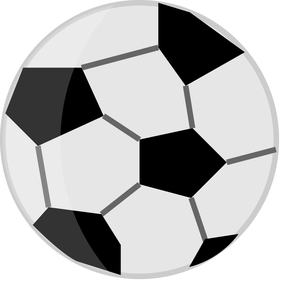 900x900 Football Clip Art With Transparent Background