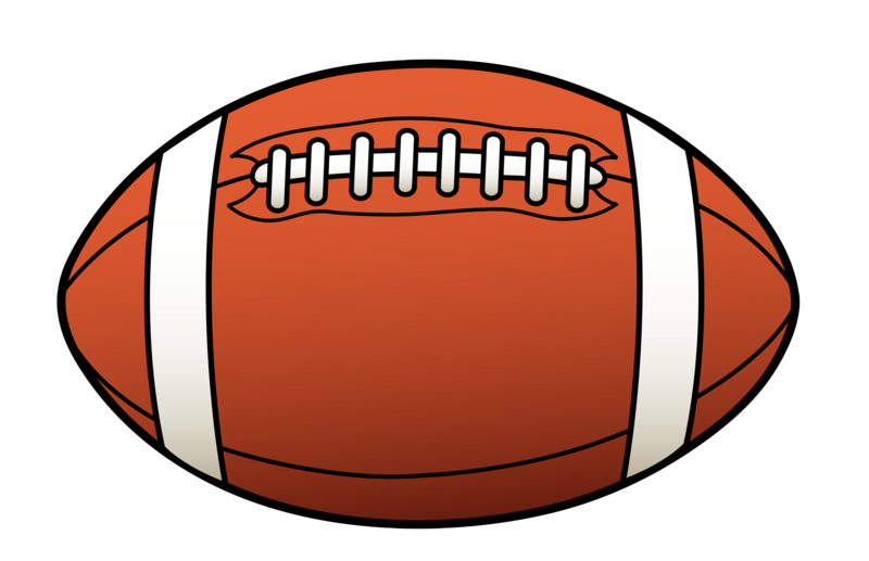 800x517 Football Clipart Free