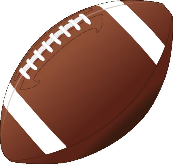 600x570 Football Clip Art