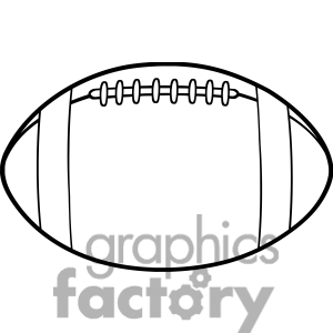 300x300 Black And White Football Jersey Clipart