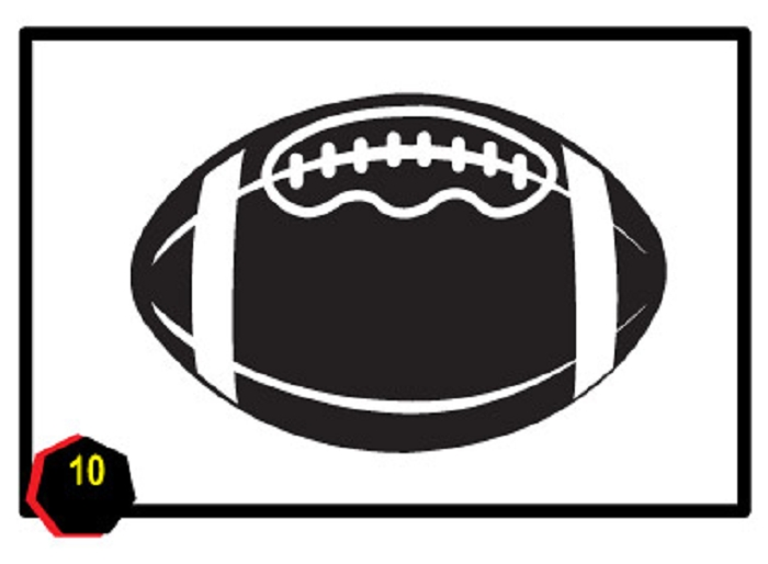 700x514 Football Black And White Football Clip Art Free Printable Clipart