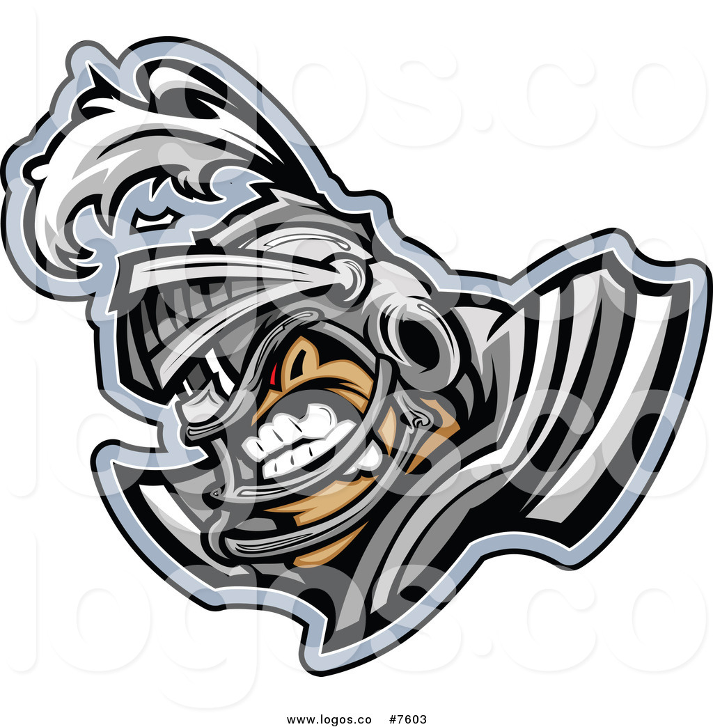 1024x1044 Royalty Free Clip Art Vector Logo Of A Tough Knight Football