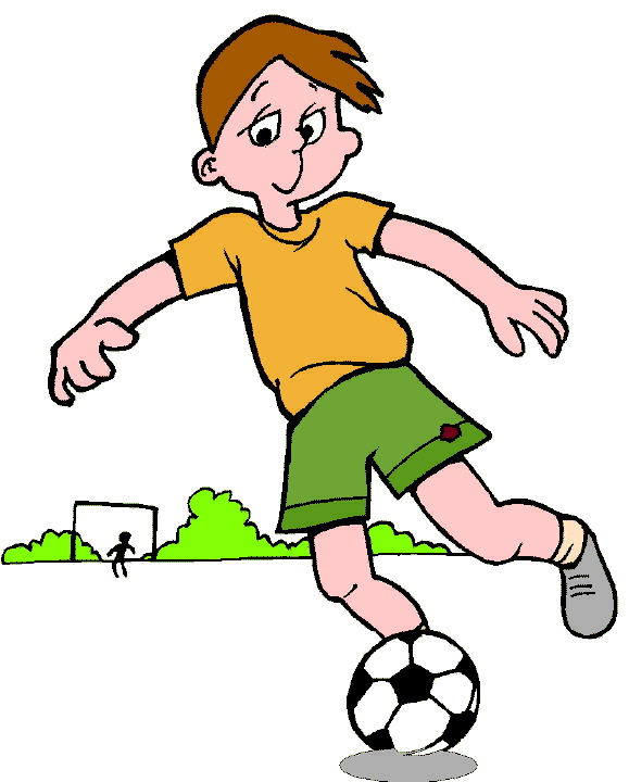 579x720 Best Playing Football Clipart