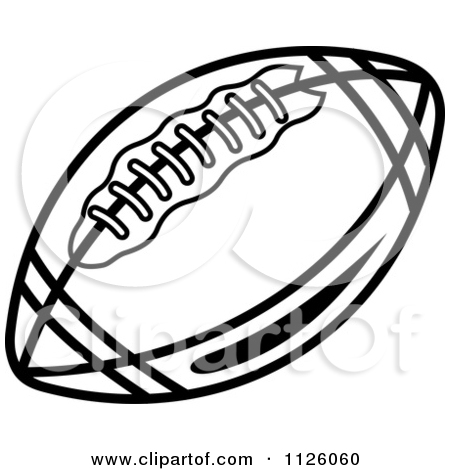 450x470 Black And White Football Clipart